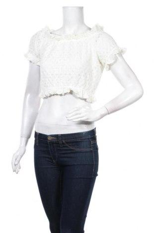 Γυναικεία μπλούζα Lefties, Μέγεθος M, Χρώμα Λευκό, 65% πολυαμίδη, 35% βαμβάκι, Τιμή 5,54€