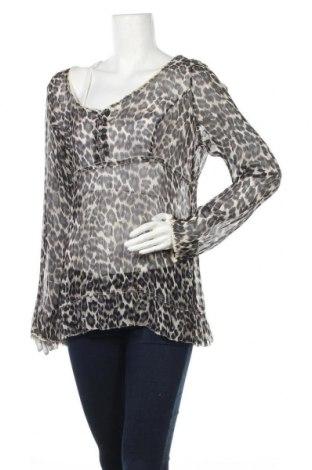 Дамска блуза Marc Aurel, Размер L, Цвят Многоцветен, Коприна, Цена 21,60лв.