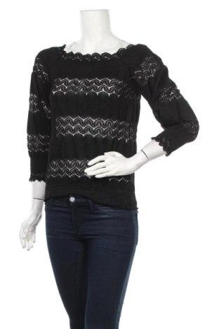 Γυναικεία μπλούζα Mohito, Μέγεθος S, Χρώμα Μαύρο, Τιμή 7,60€