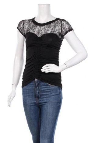 Дамска блуза Morgan De Toi, Размер XS, Цвят Черен, 95% полиестер, 5% еластан, Цена 22,36лв.