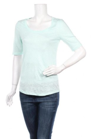 Дамска блуза Oui, Размер S, Цвят Син, Лен, Цена 44,85лв.