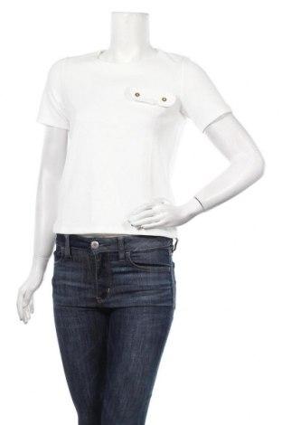 Дамска блуза Pimkie, Размер S, Цвят Бял, 95% полиестер, 5% еластан, Цена 12,00лв.