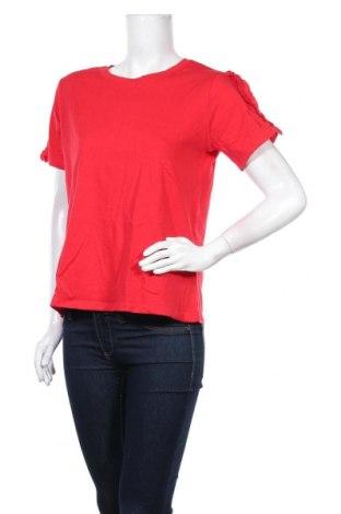 Дамска блуза Pimkie, Размер S, Цвят Червен, Памук, Цена 14,00лв.