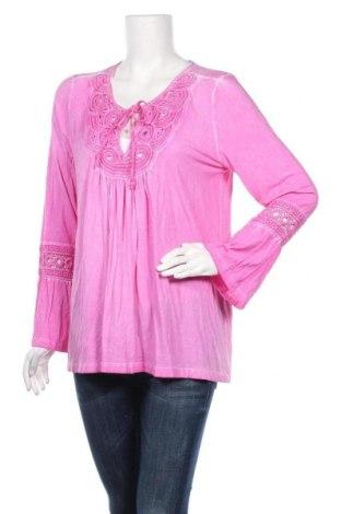 Γυναικεία μπλούζα Rick Cardona, Μέγεθος XL, Χρώμα Ρόζ , 95% βισκόζη, 5% ελαστάνη, Τιμή 7,01€