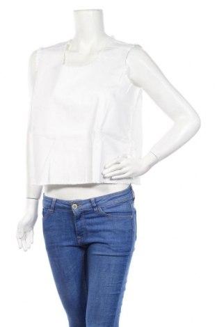 Дамска блуза Venca, Размер XL, Цвят Бял, 75% памук, 23% полиестер, 2% еластан, Цена 9,50лв.