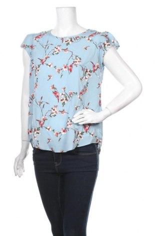 Дамска блуза Yumi, Размер L, Цвят Син, Полиестер, Цена 22,05лв.