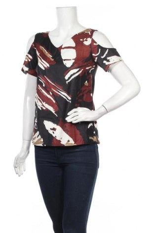 Дамска блуза Yumi, Размер S, Цвят Многоцветен, Полиестер, Цена 22,05лв.