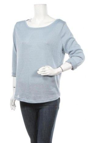 Γυναικεία μπλούζα Zebra, Μέγεθος XL, Χρώμα Μπλέ, Πολυεστέρας, Τιμή 11,11€