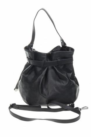 Γυναικεία τσάντα Camaieu, Χρώμα Μαύρο, Δερματίνη, Τιμή 16,56€