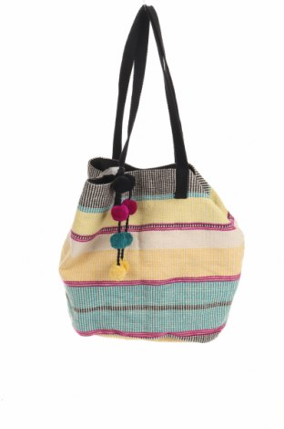Γυναικεία τσάντα Camaieu, Χρώμα Πολύχρωμο, Κλωστοϋφαντουργικά προϊόντα, Τιμή 15,91€