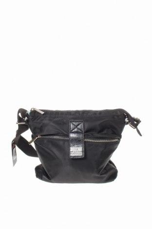 Дамска чанта Egon Von Furstenberg, Цвят Черен, Текстил, Цена 46,87лв.