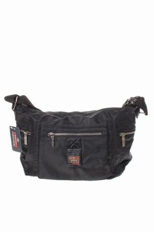 Γυναικεία τσάντα Egon Von Furstenberg, Χρώμα Μαύρο, Κλωστοϋφαντουργικά προϊόντα, Τιμή 32,51€