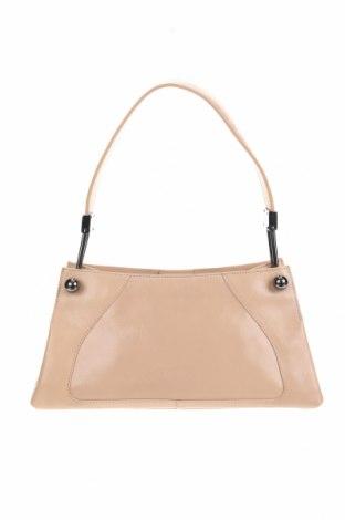 Дамска чанта Furla, Цвят Бежов, Естествена кожа, Цена 119,04лв.