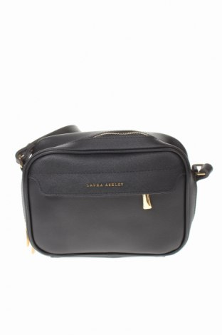 Γυναικεία τσάντα Laura Ashley, Χρώμα Μαύρο, Δερματίνη, Τιμή 16,60€