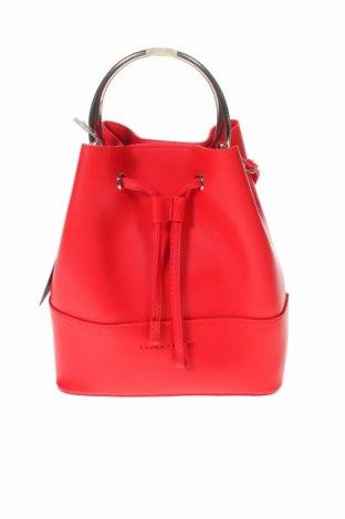 Дамска чанта Laura Ashley, Цвят Червен, Еко кожа, Цена 54,45лв.