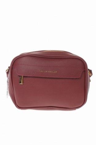 Дамска чанта Laura Ashley, Цвят Червен, Еко кожа, Цена 25,37лв.