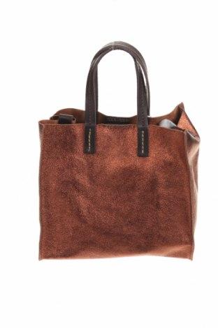 Дамска чанта Maison Heritage, Цвят Кафяв, Естествена кожа, Цена 115,60лв.