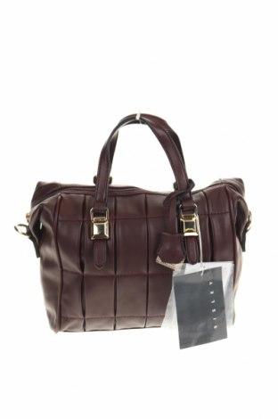 Дамска чанта Sisley, Цвят Червен, Еко кожа, Цена 42,57лв.