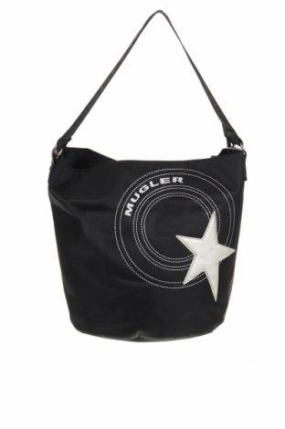 Γυναικεία τσάντα Thierry Mugler, Χρώμα Μαύρο, Κλωστοϋφαντουργικά προϊόντα, Τιμή 51,63€