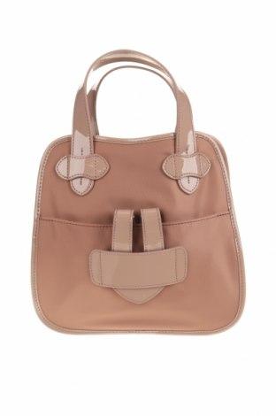 Дамска чанта Tila March, Цвят Розов, Текстил, естествена кожа, Цена 87,45лв.