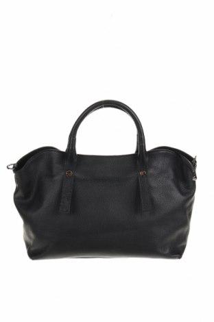 Γυναικεία τσάντα VICTOR&HUGO, Χρώμα Μαύρο, Γνήσιο δέρμα, Τιμή 61,16€