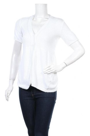 Γυναικεία ζακέτα Biaggini, Μέγεθος M, Χρώμα Λευκό, 50% βαμβάκι, 50% πολυακρυλικό, Τιμή 6,59€