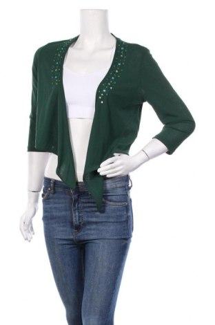 Дамска жилетка Bonita, Размер M, Цвят Зелен, 100% полиестер, Цена 5,80лв.
