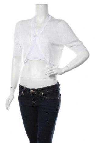 Γυναικεία ζακέτα Derhy, Μέγεθος XL, Χρώμα Λευκό, 75% βισκόζη, 25% πολυεστέρας, Τιμή 9,18€