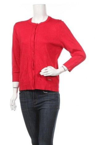 Γυναικεία ζακέτα Ellen Tracy, Μέγεθος M, Χρώμα Κόκκινο, 80% βισκόζη, 20% πολυαμίδη, Τιμή 15,20€