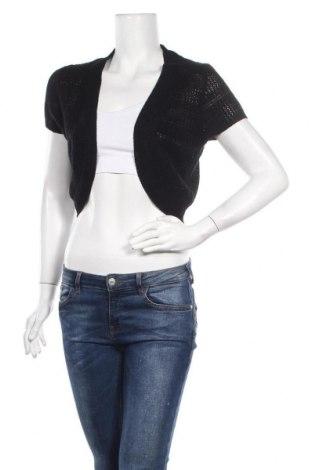 Γυναικεία ζακέτα Janina, Μέγεθος M, Χρώμα Μαύρο, 55% βαμβάκι, 45% πολυακρυλικό, Τιμή 4,48€