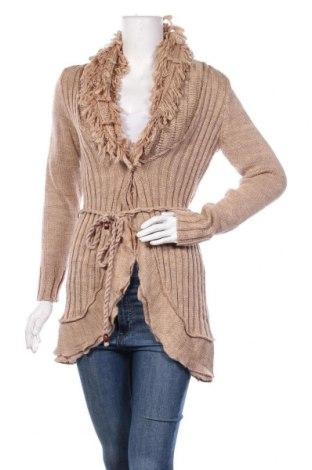 Γυναικεία ζακέτα Kenny S., Μέγεθος S, Χρώμα  Μπέζ, 80%ακρυλικό, 20% μαλλί, Τιμή 10,13€