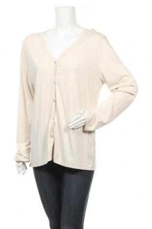 Γυναικεία ζακέτα Kurt Kolln, Μέγεθος L, Χρώμα Εκρού, 96% βισκόζη, 4% ελαστάνη, Τιμή 4,77€