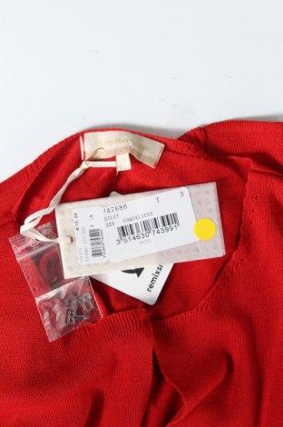 Дамска жилетка La Fee Maraboutee, Размер L, Цвят Червен, 90% вискоза, 10% полиамид, Цена 18,53лв.