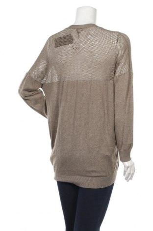 Дамска жилетка Lawrence Grey, Размер XL, Цвят Сив, Памук, Цена 19,24лв.