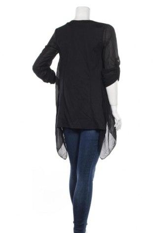 Γυναικεία ζακέτα Made In Italy, Μέγεθος S, Χρώμα Μαύρο, 95% πολυεστέρας, 5% ελαστάνη, Τιμή 7,80€