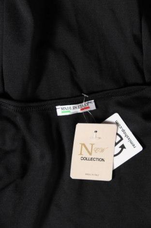 Дамска жилетка Made In Italy, Размер S, Цвят Черен, 95% полиестер, 5% еластан, Цена 12,42лв.