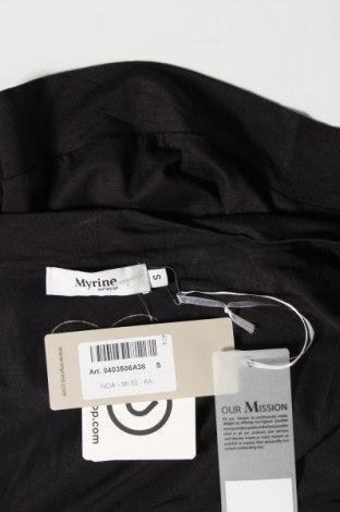 Γυναικεία ζακέτα Myrine, Μέγεθος S, Χρώμα Μαύρο, Τιμή 6,40€