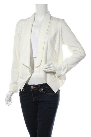 Дамска жилетка Myrine, Размер L, Цвят Бял, 95% памук, 5% еластан, Цена 14,75лв.