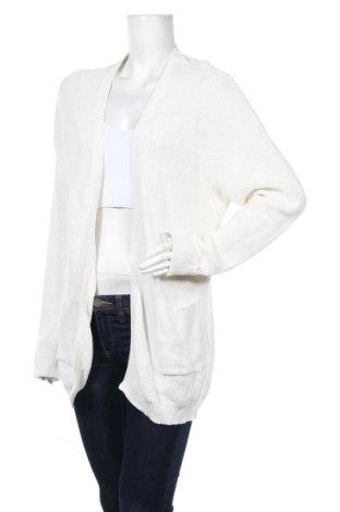 Дамска жилетка Oviesse, Размер L, Цвят Бял, 50% акрил, 50% памук, Цена 10,00лв.