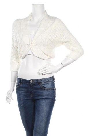 Дамска жилетка Tally Weijl, Размер XS, Цвят Бял, 100% акрил, Цена 6,04лв.