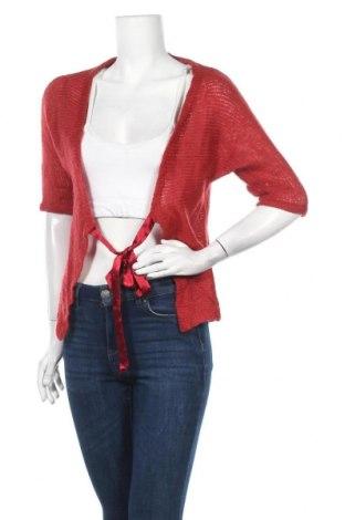 Γυναικεία ζακέτα Tom Tailor, Μέγεθος M, Χρώμα Κόκκινο, 85% πολυακρυλικό, 8% μοχαίρ, 7% μαλλί, Τιμή 8,18€