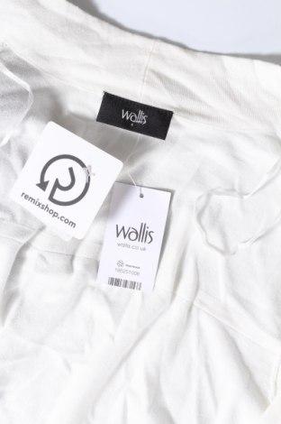 Дамска жилетка Wallis, Размер S, Цвят Бял, 81% вискоза, 19% полиамид, Цена 13,00лв.