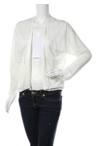 Дамска жилетка Zara Trafaluc, Размер S, Цвят Бял, 100% лен, Цена 6,55лв.