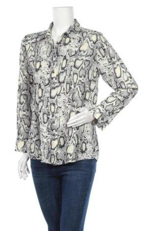 Дамска риза, Размер S, Цвят Многоцветен, 95% полиестер, 5% еластан, Цена 11,04лв.