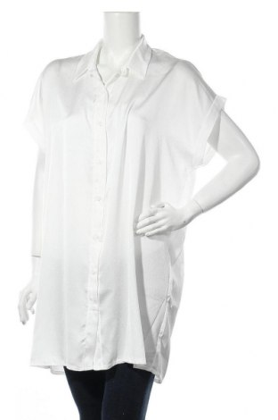 Дамска риза Almatrichi, Размер M, Цвят Бял, 95% полиестер, 5% еластан, Цена 67,20лв.