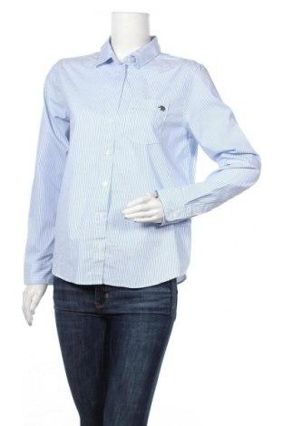 Γυναικείο πουκάμισο Banana Republic, Μέγεθος M, Χρώμα Μπλέ, 62% βαμβάκι, 34% πολυεστέρας, 4% ελαστάνη, Τιμή 32,88€