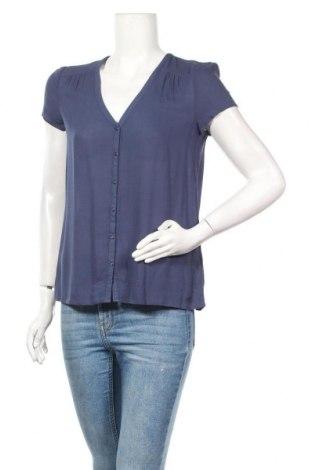 Γυναικείο πουκάμισο DDP, Μέγεθος XS, Χρώμα Μπλέ, Βισκόζη, Τιμή 8,18€