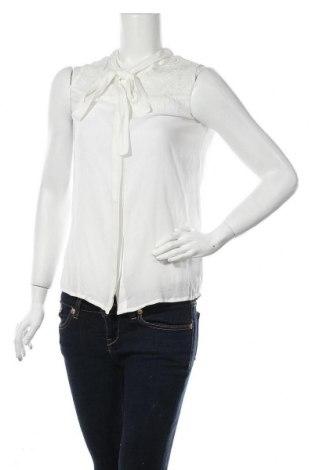 Дамска риза Etam, Размер XS, Цвят Бял, Вискоза, Цена 14,75лв.