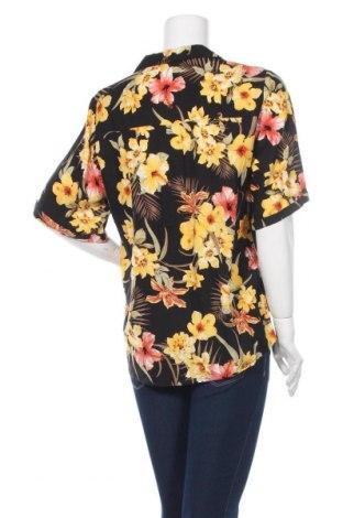 Дамска риза Gina Tricot, Размер L, Цвят Многоцветен, Вискоза, Цена 25,30лв.