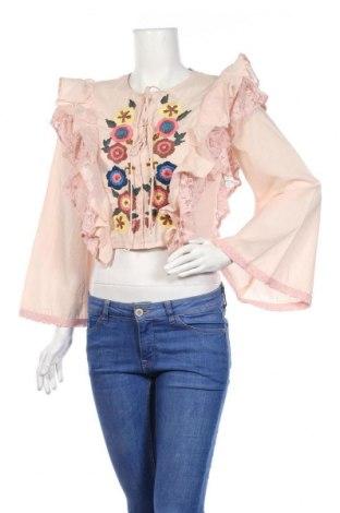 Γυναικείο πουκάμισο Glamorous, Μέγεθος S, Χρώμα Ρόζ , Βαμβάκι, Τιμή 18,10€